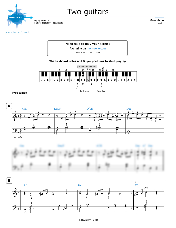 Preview Audio Sle: Dark Eyes Russian Guitar Sheet Music At Alzheimers-prions.com