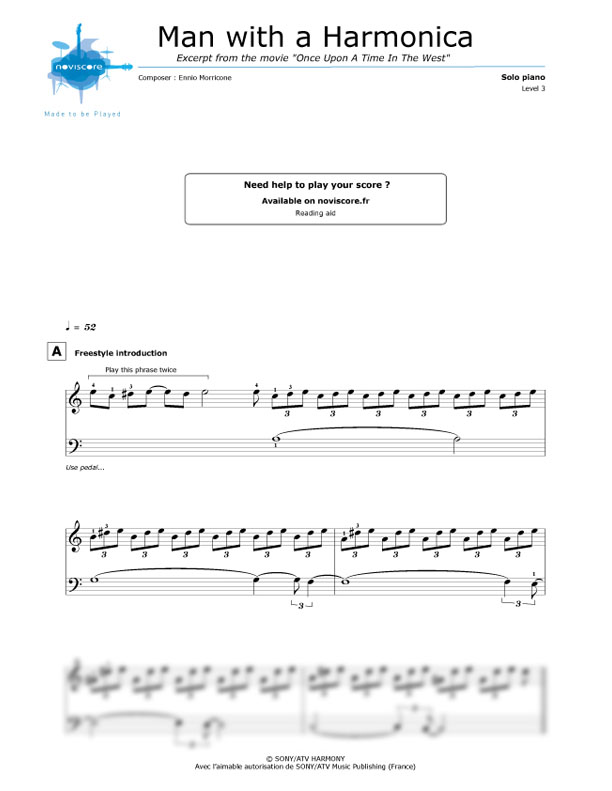 Piano Man Harmonica Sheet Music Free - how to play piano man 8 steps with pictures wikihowbilly ...