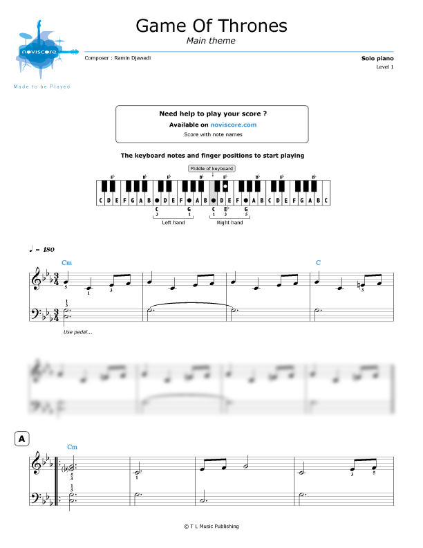 Preview Audio Sle: This Game Sheet Music At Alzheimers-prions.com