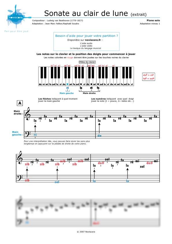 beethoven moonlight sonata piano sheet music pdf