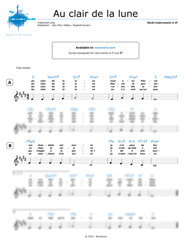 clair de lune sheet music easy pdf