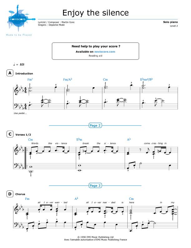 enjoy the trip sheet music pdf