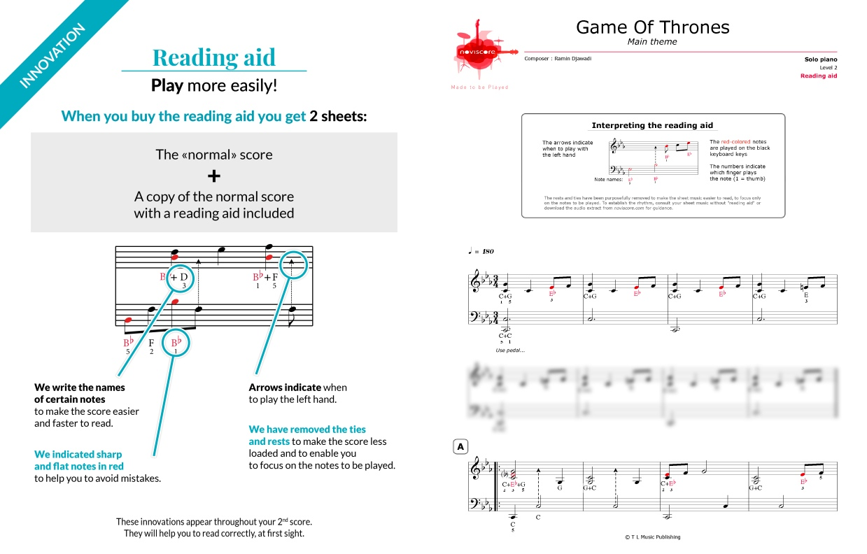 piano game of thrones