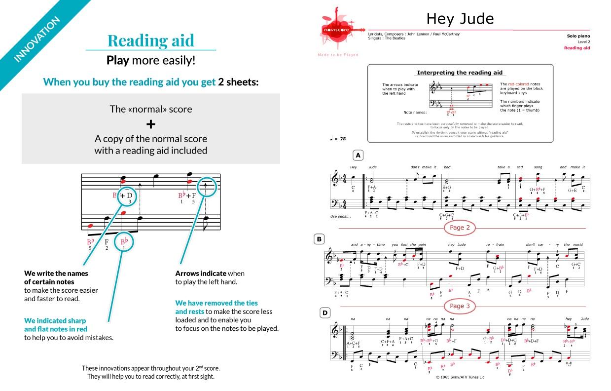 hey jude piano sheet music pdf