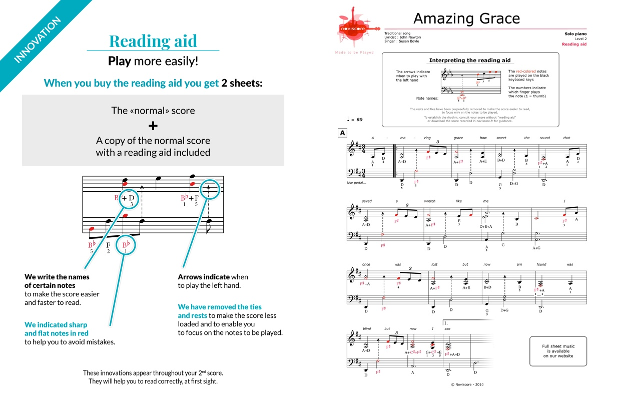 photo regarding Free Printable Piano Sheet Music for Amazing Grace referred to as no cost Piano sheet tunes Outstanding Grace (Susan Boyle